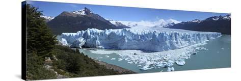 Perito Moreno Glacier, Panoramic View, Argentina, January 2010-Mark Taylor-Stretched Canvas Print