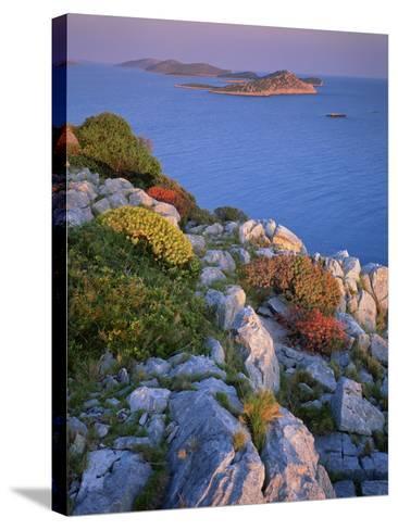 Coastal Landscape, Kornati National Park, Mana Island, Croatia, May 2009 Wwe Book-Popp-Hackner-Stretched Canvas Print