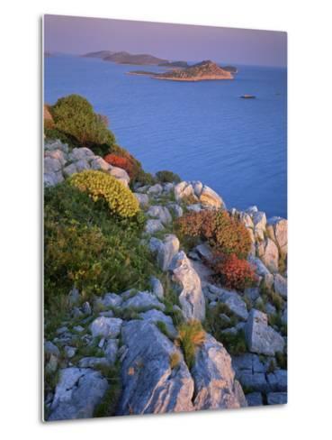Coastal Landscape, Kornati National Park, Mana Island, Croatia, May 2009 Wwe Book-Popp-Hackner-Metal Print