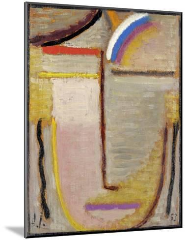 Abstract Head-Alexej Von Jawlensky-Mounted Giclee Print