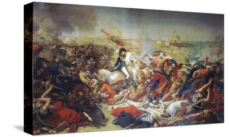 Battle of Aboukir, July 25, 1799-Antoine-Jean Gros-Stretched Canvas Print