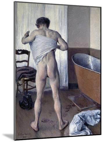 Man at His Bath-Gustave Caillebotte-Mounted Giclee Print