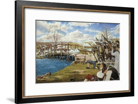 Battle of Concord--Framed Art Print