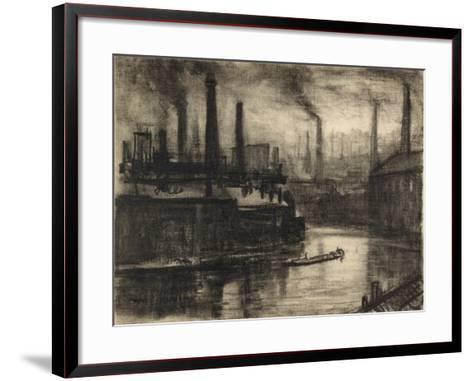 View of East London-Joseph Pennell-Framed Art Print