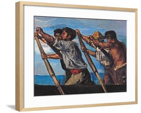 The Rowers-Hans Von Marees-Framed Art Print