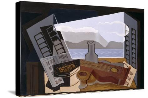 La Fenetre Ouverte (The Open Window)-Juan Gris-Stretched Canvas Print