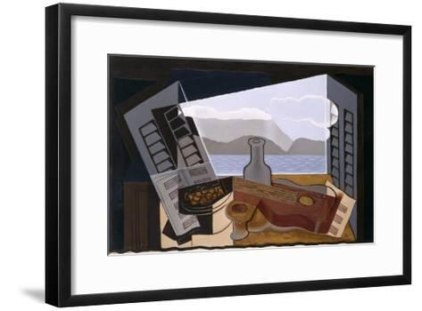 La Fenetre Ouverte (The Open Window)-Juan Gris-Framed Art Print