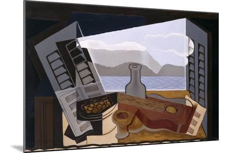 La Fenetre Ouverte (The Open Window)-Juan Gris-Mounted Giclee Print