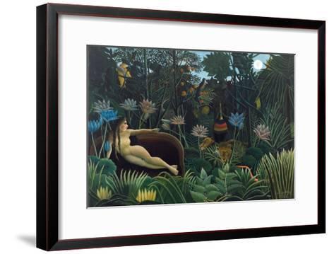 The Dream-Henri Rousseau-Framed Art Print