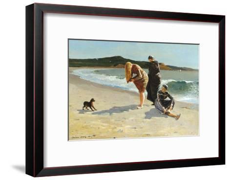 Eagle Head, Manchester, Massachusetts (High Tide)-Winslow Homer-Framed Art Print