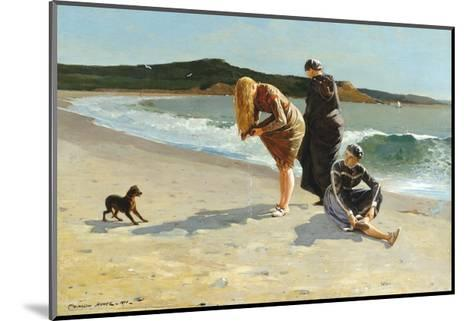 Eagle Head, Manchester, Massachusetts (High Tide)-Winslow Homer-Mounted Giclee Print