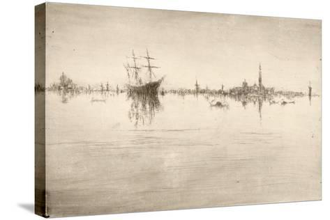 Nocturne-James Abbott McNeill Whistler-Stretched Canvas Print