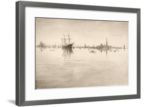 Nocturne-James Abbott McNeill Whistler-Framed Art Print