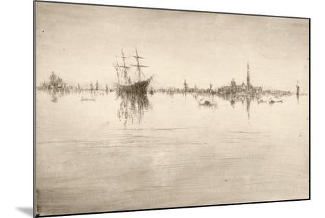 Nocturne-James Abbott McNeill Whistler-Mounted Giclee Print