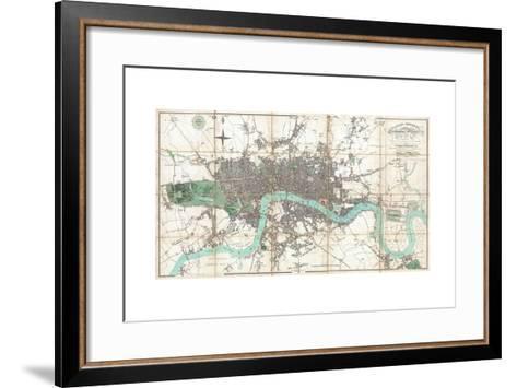 London in Miniature-Edward Mogg-Framed Art Print