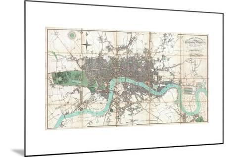 London in Miniature-Edward Mogg-Mounted Giclee Print