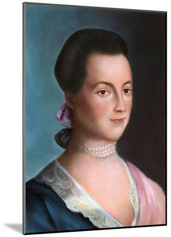 Portrait of Abigail Adams after a Painting-Benjamin Blythe-Mounted Giclee Print