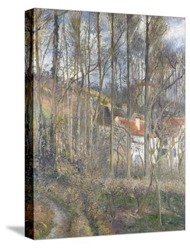 Pontoise - the Cite Des Boeufs and the Hermitage-Camille Pissarro-Stretched Canvas Print