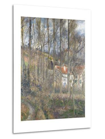 Pontoise - the Cite Des Boeufs and the Hermitage-Camille Pissarro-Metal Print