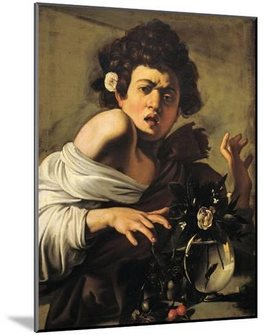 Boy Bitten by a Lizard-Caravaggio-Mounted Giclee Print