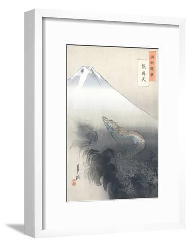 Dragon Rising to the Heavens-Ogata Gekko-Framed Art Print