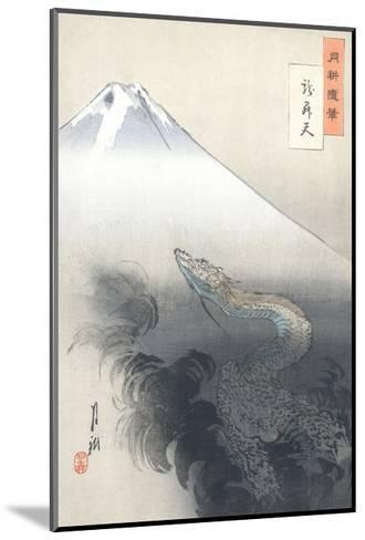 Dragon Rising to the Heavens-Ogata Gekko-Mounted Giclee Print