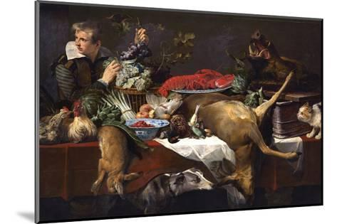 Pantry Scene with Servant-Frans Snyders-Mounted Giclee Print