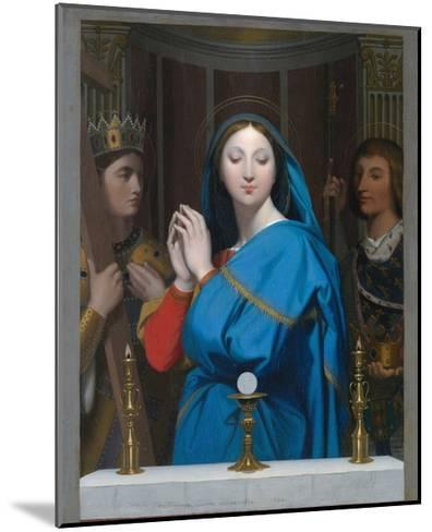 The Virgin Adoring the Host-Jean-Auguste-Dominique Ingres-Mounted Giclee Print