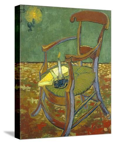 Gauguin's Chair-Vincent van Gogh-Stretched Canvas Print