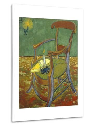 Gauguin's Chair-Vincent van Gogh-Metal Print