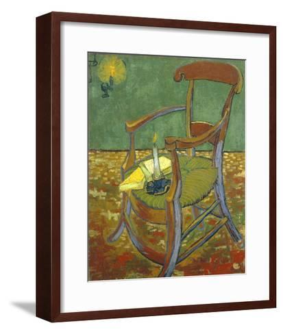 Gauguin's Chair-Vincent van Gogh-Framed Art Print