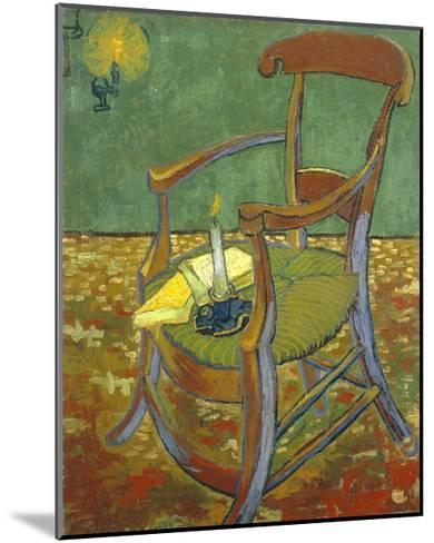 Gauguin's Chair-Vincent van Gogh-Mounted Giclee Print