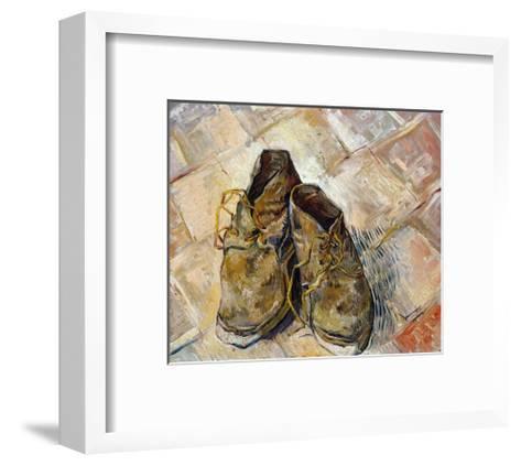 Shoes-Vincent van Gogh-Framed Art Print