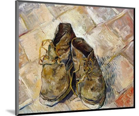 Shoes-Vincent van Gogh-Mounted Giclee Print