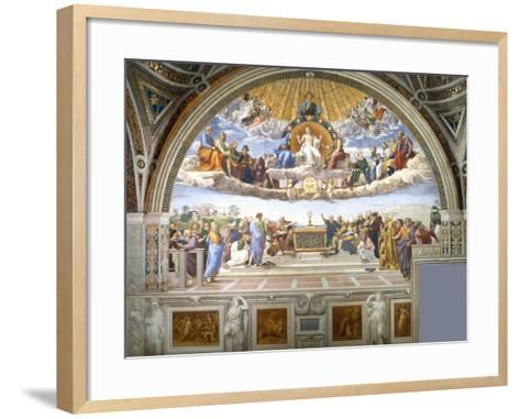 Disputation of the Holy Sacrament-Raphael-Framed Art Print