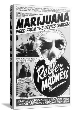 Reefer Madness Movie Poster--Stretched Canvas Print