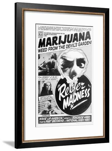 Reefer Madness Movie Poster--Framed Art Print