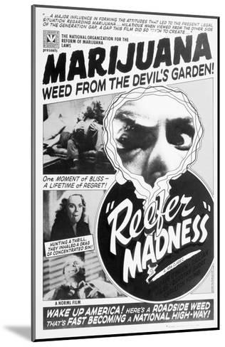 Reefer Madness Movie Poster--Mounted Giclee Print