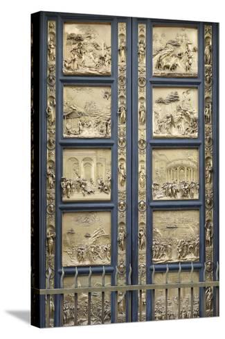 The Gates of Paradise-Lorenzo Ghiberti-Stretched Canvas Print