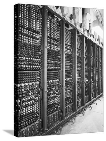 Vacuum Tubes of Eniac--Stretched Canvas Print