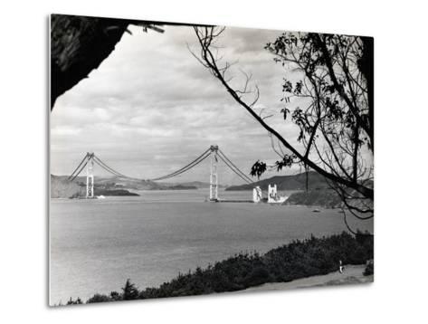 General View of Golden Gate Bridge--Metal Print