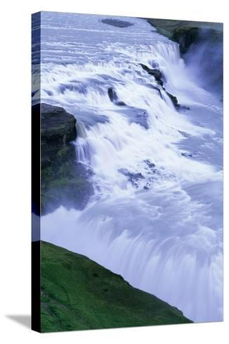 Gullfoss Waterfall in Iceland-Paul Souders-Stretched Canvas Print