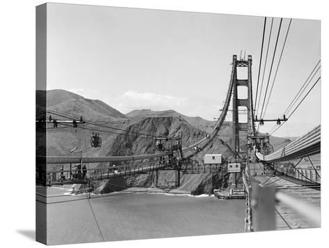 The Golden Gate Bridge--Stretched Canvas Print