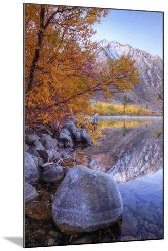 Autumn Landscape at June Lake-Vincent James-Mounted Photographic Print