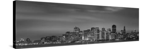Skyline Viewed from Treasure Island, San Francisco, California, USA--Stretched Canvas Print