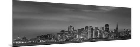Skyline Viewed from Treasure Island, San Francisco, California, USA--Mounted Photographic Print