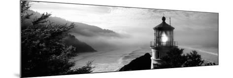 Lighthouse on a Hill, Heceta Head Lighthouse, Heceta Head, Lane County, Oregon, USA--Mounted Photographic Print
