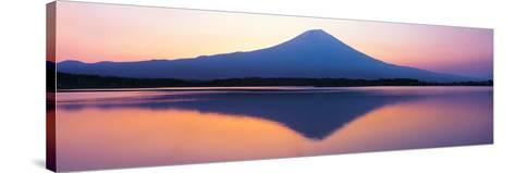 Mt Fuji Shizuoka Japan--Stretched Canvas Print