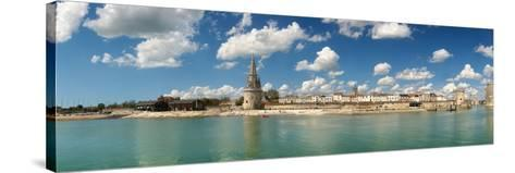 Three Towers at the Port of La Rochelle, Charente-Maritime, Poitou-Charentes, France--Stretched Canvas Print