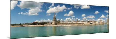 Three Towers at the Port of La Rochelle, Charente-Maritime, Poitou-Charentes, France--Mounted Photographic Print